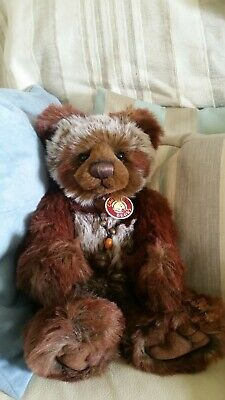 PETE Charlie Bears 2011 Secret Collection Collectable Retired Bear CB614853 RARE • 64£