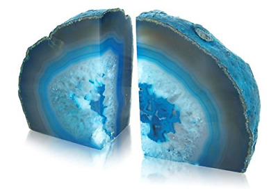 Agate Bookends - Green • 30.27£