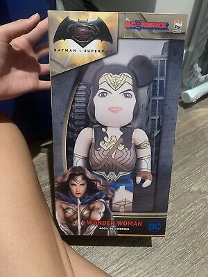$90 • Buy Bearbrick 400% DC Comics Batman V Superman Wonder Woman% Figure NEW (UNBRANDED)