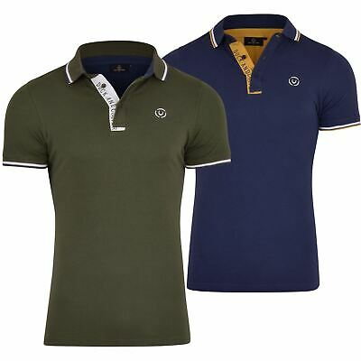 Duck And Cover Polo Shirt Collared Luxury Cotton T Shirt Short Sleeved Logo Top • 14.99£
