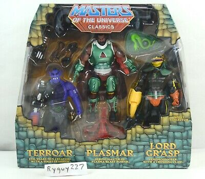 $525 • Buy MOTUC, Power Con 3-Pack, Masters Of The Universe Classics, Sealed Box, MISB, MOC