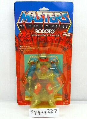 $195 • Buy MOTU, Roboto, Figure, Masters Of The Universe, MOC, Carded, He Man, Sealed, MISB