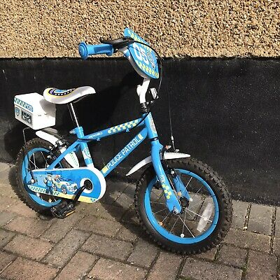 """Apollo """"Police Patrol"""" Bike (approximate Age 3-7 Years) • 15£"""