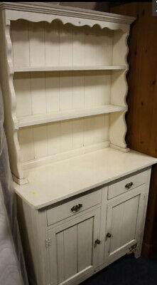 Rustic Shabby Chic Sideboard Cabinet French Dresser Painted • 55£