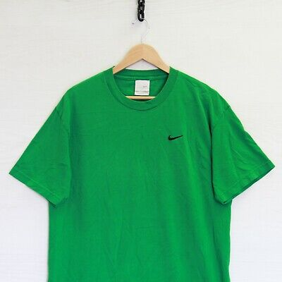 $ CDN65.90 • Buy Vintage Nike T-Shirt Size Large Green Embroidered Swoosh