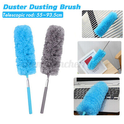 AU9.99 • Buy Extendable Telescopic Feather Duster Extend Handle Home Cleaner Dust Brush Tool