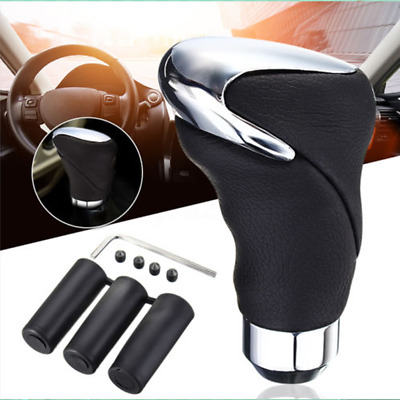 $14.62 • Buy Manual/Automatic Car Leather Gear Stick Shift Knob Cover Handle Shifter Lever