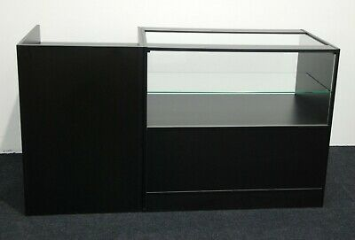 Shop Counters Glass Shelves Mobile Phones Jewellery Set Of 2 Units Till Counter • 349.99£