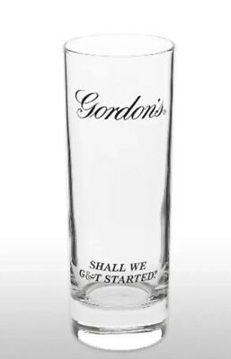 Gordon's Gin Tall Glass New & Rare • 9.95£