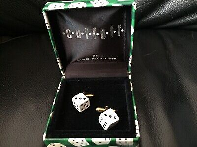 £7.95 • Buy ***dice Gift Novelty Cufflinks Boxed - Free Postage***