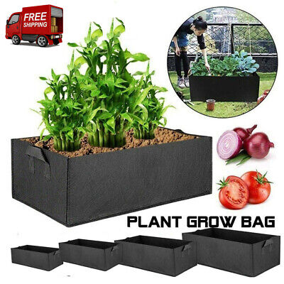 Raised Elevated Plant Bed Garden Flower Planter Container Vegetable Box Grow Bag • 9.99£