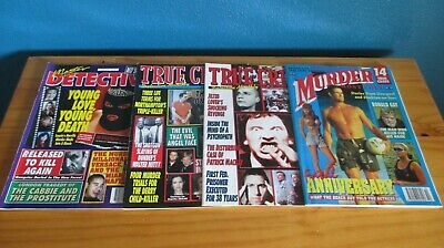 True Crime, Murder Most Foul & Master Detective Magazines 2001  • 11.99£