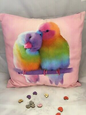 Love Birds Cushion The Perfect Gift!!!! • 12£