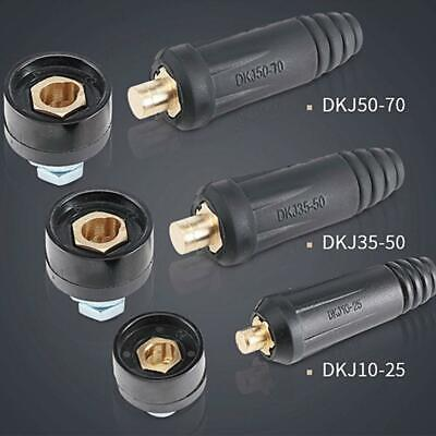 Male Female Copper Cable Connector Welder Quick Fitting Tool Welding Plug S3V6 • 3.27£