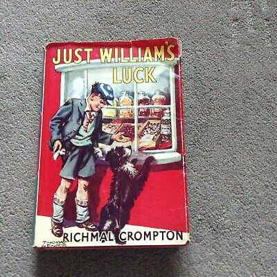 JUST WILLIAM'S LUCK  Richmal Crompton 1960 • 5.50£