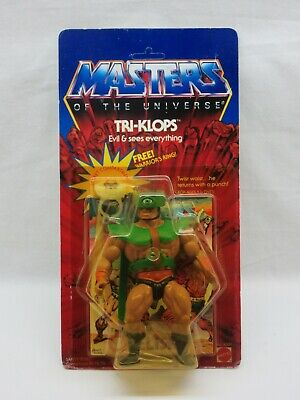 $815 • Buy MOTU,VINTAGE,TRI-KLOPS,Masters Of The Universe,MOC,MOSC,UNPUNCHED,sealed,He-Man