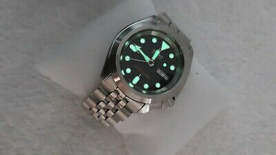 $ CDN757.97 • Buy Seiko SKX007 NH36 With Signature Crown &  Strapcode Jubilee, Explorer Style Mod