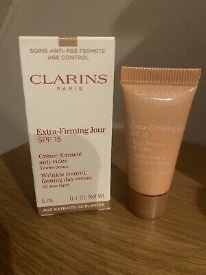 £3.95 • Buy ❤️ CLARINS Extra Wrinkle Control Firming Day Cream All Skin Types 5ml ❤️