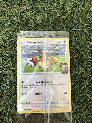 Pokemon Futsal Evee On The Ball Collector Card FA England Promo NEW AND SEALED • 16.50£