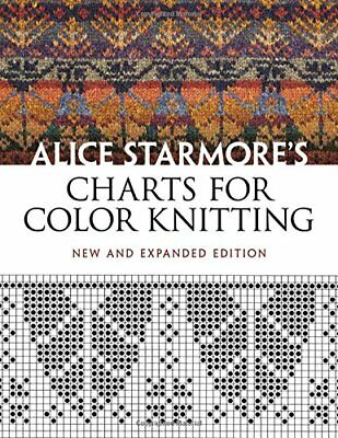 Charts For Color Knitting (Dover Knitting  Crochet  Tatting   New Paperback Book • 15.67£