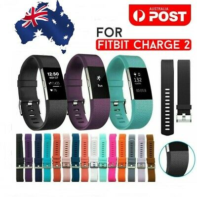 AU4.50 • Buy Fitbit Charge 2 Bands Replacement Silicone Wristband Watch Strap Bracelet Sport