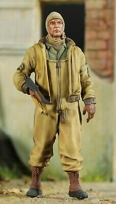 1/35 Scale Panzer Art Resin, Figure Hand Painted United States Army Ww2 Eto • 28£