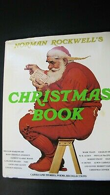 $ CDN26.69 • Buy Norman Rockwell's Christmas Book Carols, Stories, Poems & Art Vintage 1977