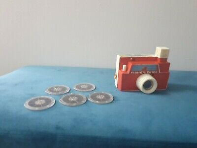 Vintage Fisher Price CAMERA With 5 Discs • 12.50£