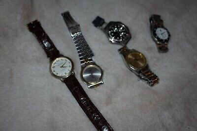 $ CDN33.52 • Buy Watch Lot 5 Watches Including Seiko And Swiss Army