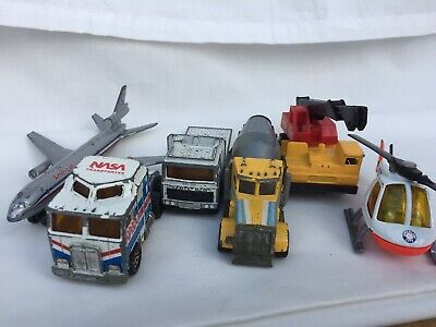 Vintage Diecast Matchbox Planes And Trucks 6 In Total 1970's And 80's. • 2.70£