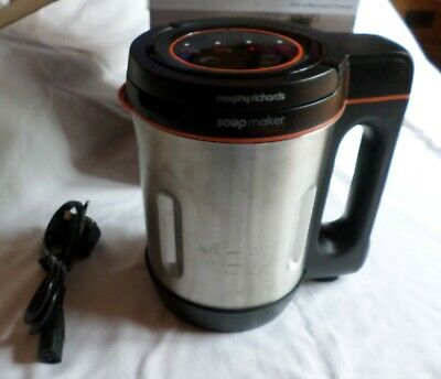 Morphy Richards: SOUP MAKER COMPACT [New, Unused & Boxed] • 25£