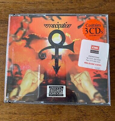 Prince - Emancipation 3 CD Boxset With Booklet PROMO Edition • 12.99£