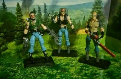 $ CDN263.64 • Buy Gi Joe Cobra Dreadnok 25th Anniversary 3 Figure Lot - Ripper, Torch, Buzzer
