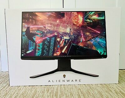 AU639.95 • Buy Alienware 25  Gaming Monitor AMD FreeSync Nvidia G-Sync IPS 240Hz HDMI DP, 2020