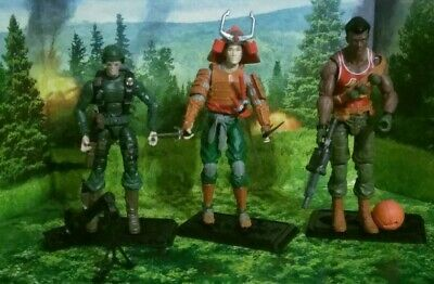 $ CDN263.64 • Buy Gi Joe Cobra 25th 3 Figure Lot - Short Fuze, Budo, Big Lob