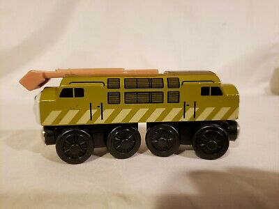Thomas Wooden Railway Diesel 10 2002 Learning Curve Very Good Condition  Co • 5.02£