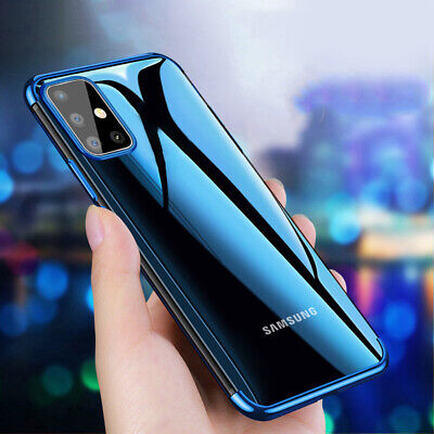 $ CDN4.86 • Buy For Samsung S10 Plus S9+ S8 S20 Ultra Slim Shockproof Silicone Clear Case Cover