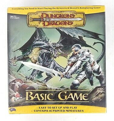 AU83.94 • Buy Dungeons And Dragons Basic Game Starter Set 2004 Wizards Of The Coast COMPLETE