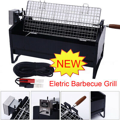 £56.55 • Buy NEW BBQ Barbecue Rotisserie Unit With Motor Stainless Steel Hog Roast Spit Grill