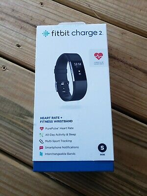 $ CDN131.82 • Buy Fitbit Charge 2 Wristband Fitness Activity Tracker, Small, Black New (C11)