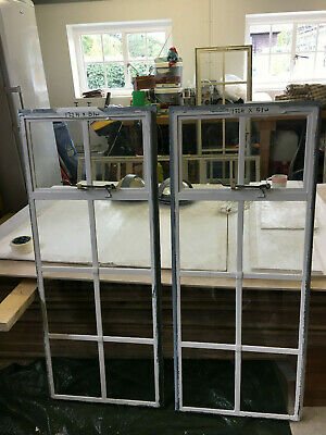 Original Crittall Windows - Top Opening 122 H X 51W   (2 Available At £90 Each) • 90£