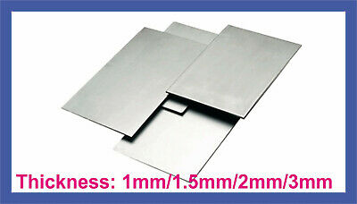 Budget MILD STEEL SHEET 1mm 2mm 3mm Thick UK Guillotine Cut New Metal Plate • 4£