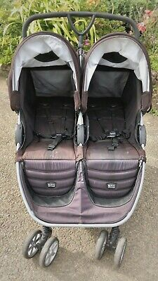 BRITAX B-agile Twin Pushchair Carry-cots • 135£