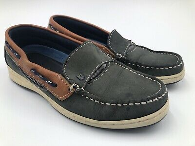 £57.57 • Buy Dubarry Of Ireland Boat Shoes - Size 40 Navy Blue Loafers Deck Sailing Casual