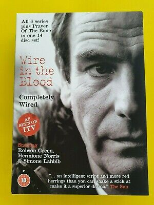 Wire In The Blood - Completely Wired [DVD 14 Discs] Robson Green - Free Postage • 14.95£