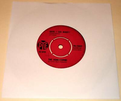 The HONEYCOMBS : HAVE I THE RIGHT ?  7  Vinyl Single 45  (PYE 1964)  Ex.    • 3.50£