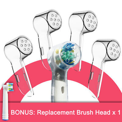 AU5 • Buy 4x Electric Toothbrush Replacement Head Protective Cover For Oral B Brush Cap