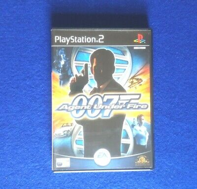 Playstation 2 James Bond 007 In Agent Under Fire PS2 Game • 3.99£
