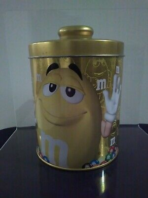 AU12 • Buy M&m Yellow Stackable Tin