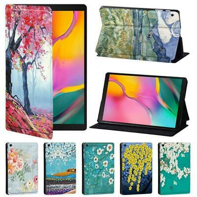 Painting Tablet Stand Cover Case For Samsung Galaxy Tab A A6 7  10  / Tab E S5E • 7.99£